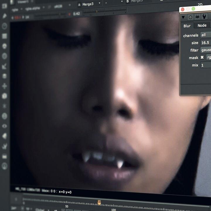 Digital Makeup in NUKE pluralsight download