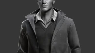 Photo of Realistic Clothing Workflow for AAA Game Male Characters