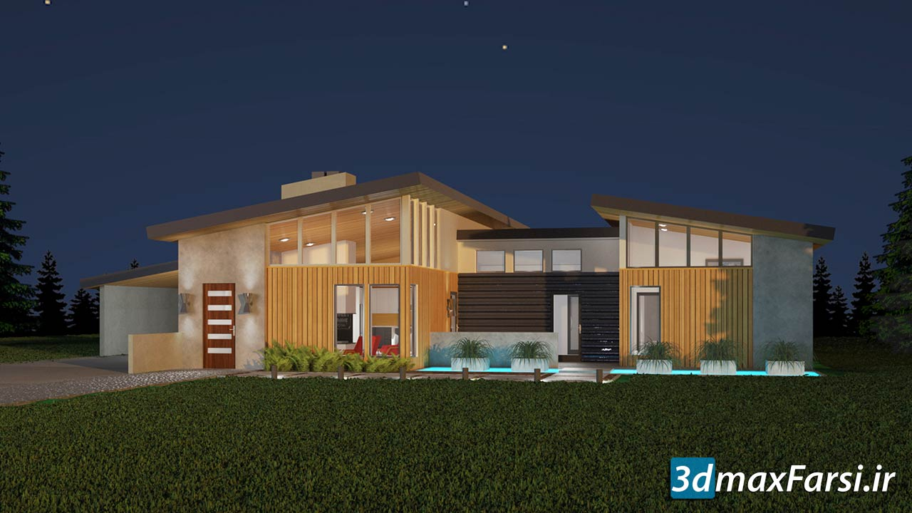 3ds Max and V-Ray: Exterior Lighting and Rendering free download