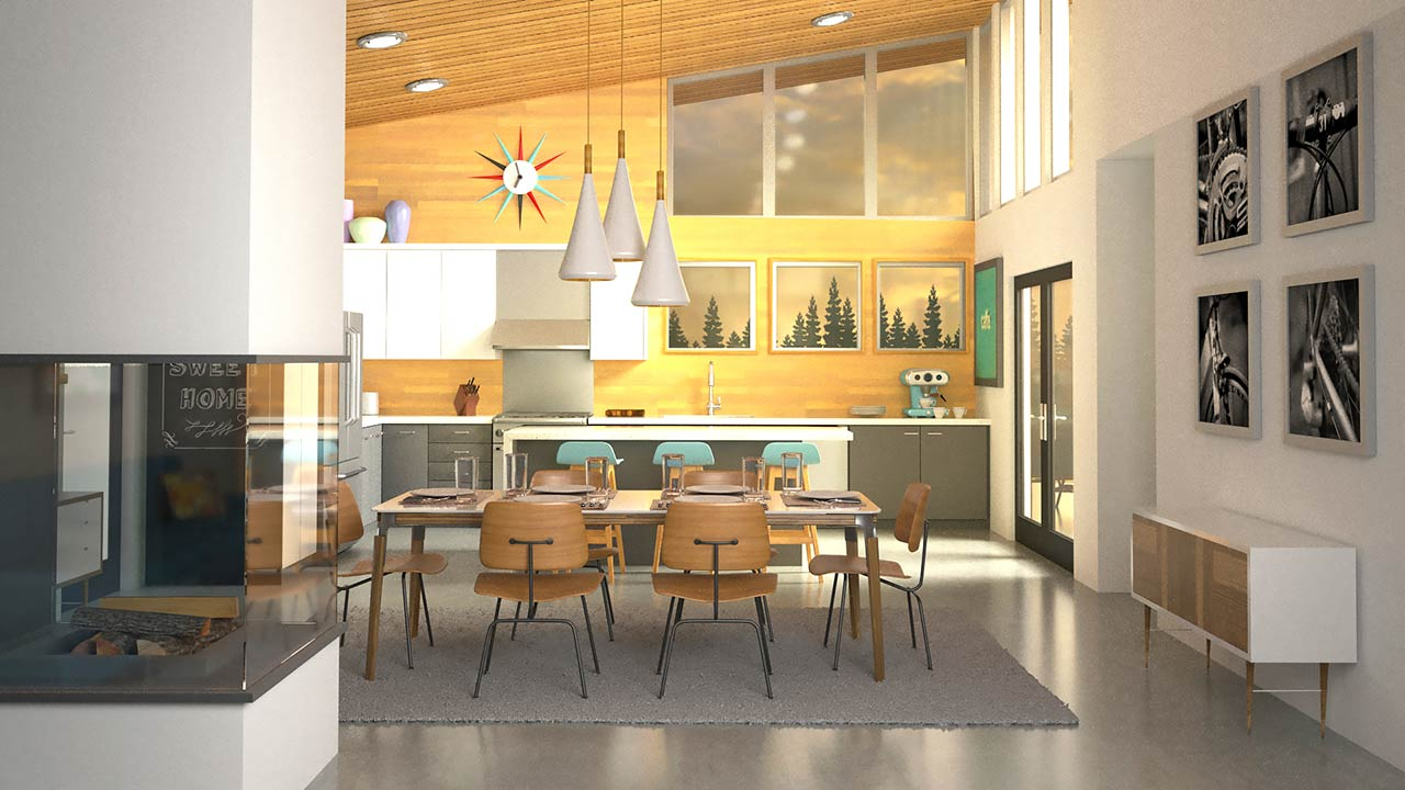 3ds Max and V-Ray: Interior Lighting and Rendering free download