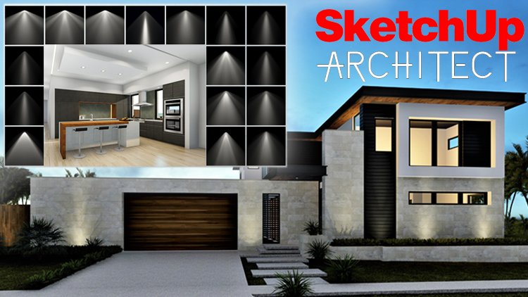 skillshare – sketchup architect lumion lighting techniques free download