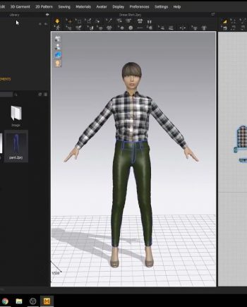 Fashion Design 3D Dress Shirt using Marvelous Designer Udemy free download