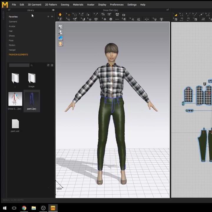 Fashion Design 3D Dress Shirt using Marvelous Designer Udemy free download