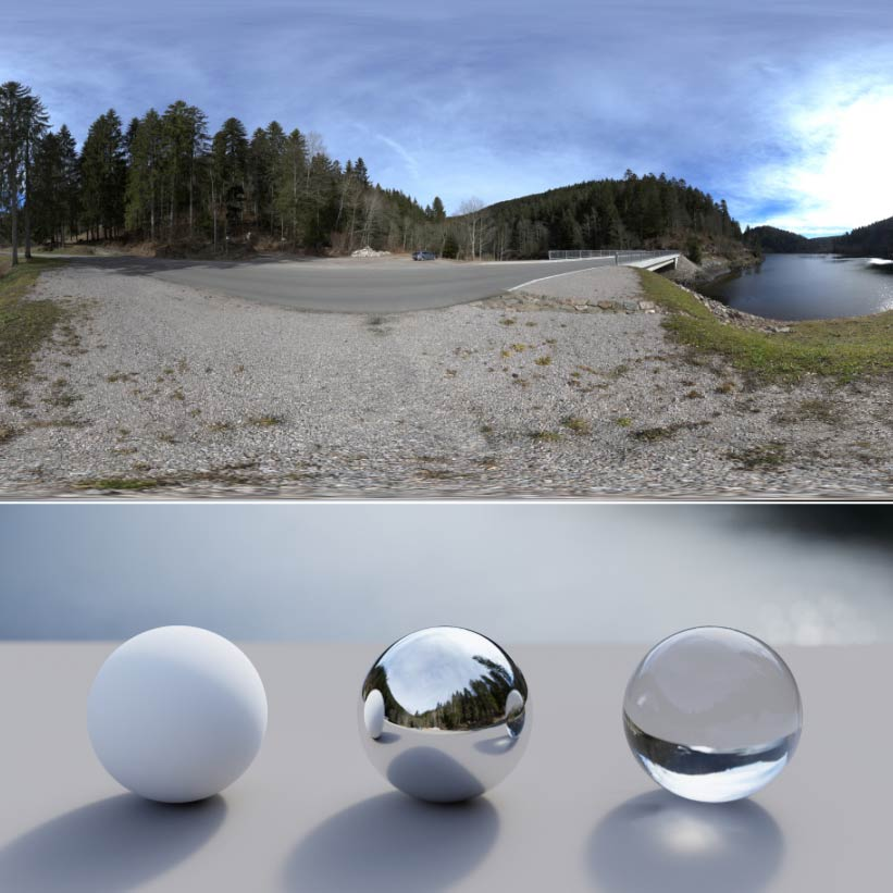 Gumroad – Schwarztalsperre 16K HDRI with Backplates free download