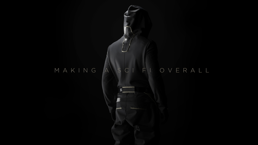 Making a Sci Fi Overall in Marvelous Designer 6.5 free download