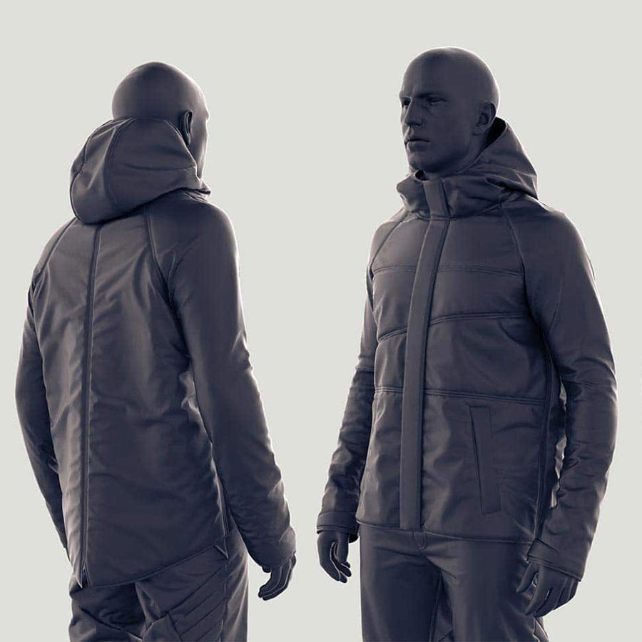 Marvelous Designer 6: Making A Jacket From Scratch Madina Chionidi