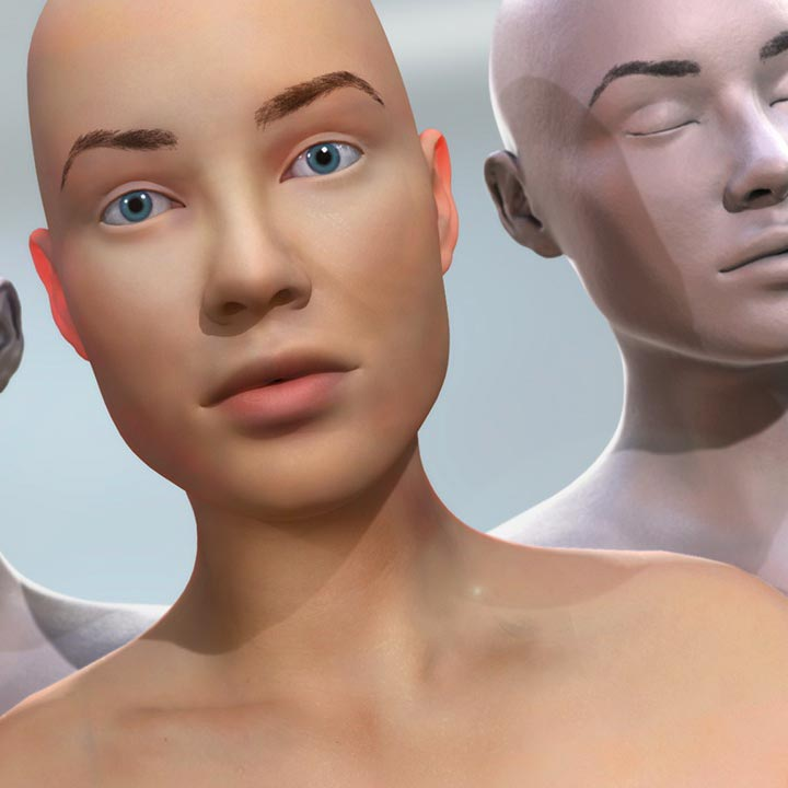Photo of Creating Morph Targets for Facial Animation in 3ds Max and ZBrush