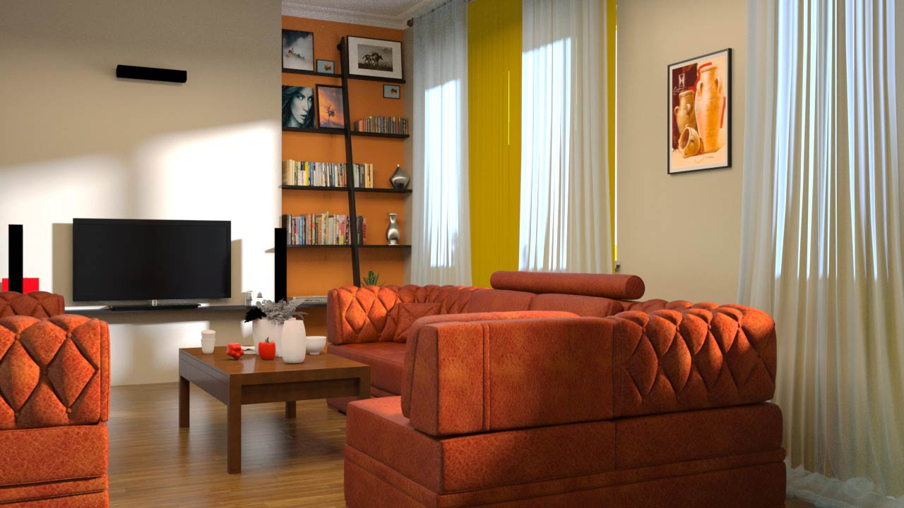 Rendering Interiors in 3ds Max and Maxwell Render free download
