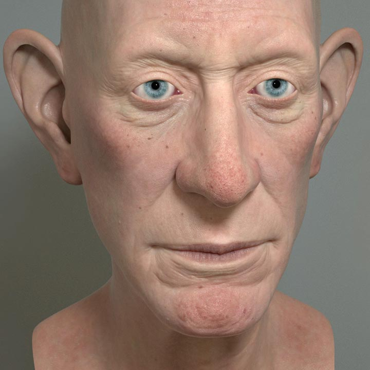 Photo of Realistic Skin Shading, Lighting, and Rendering in 3ds Max and V-Ray