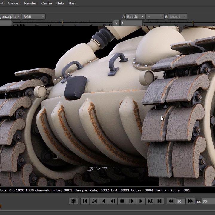 Tank Creation CGcircuit cinama 4d vray nuke free download