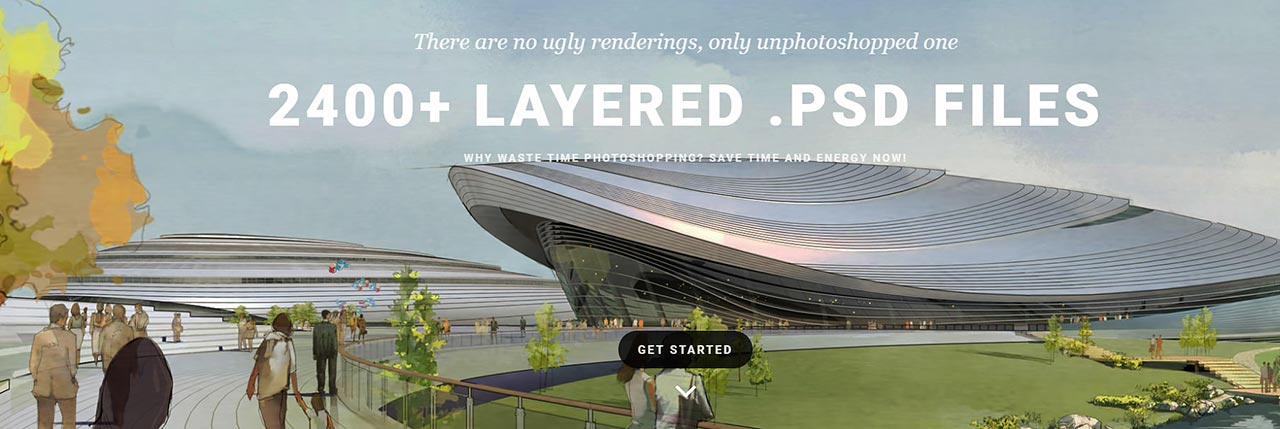 2400+ layered architectural psd files free download