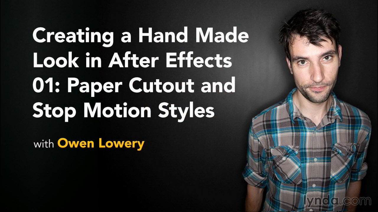 Creating a Handmade Look in After Effects: 1 Paper Cutout and Stop Motion free download