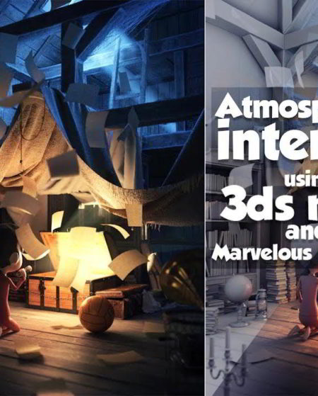 udemy Atmospheric interior using 3ds max and Marvelous Designer free download