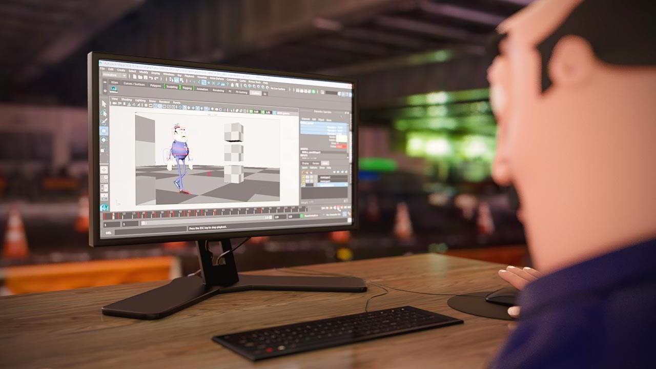 Non-destructive Retargeting of MOCAP Animation in Maya free download