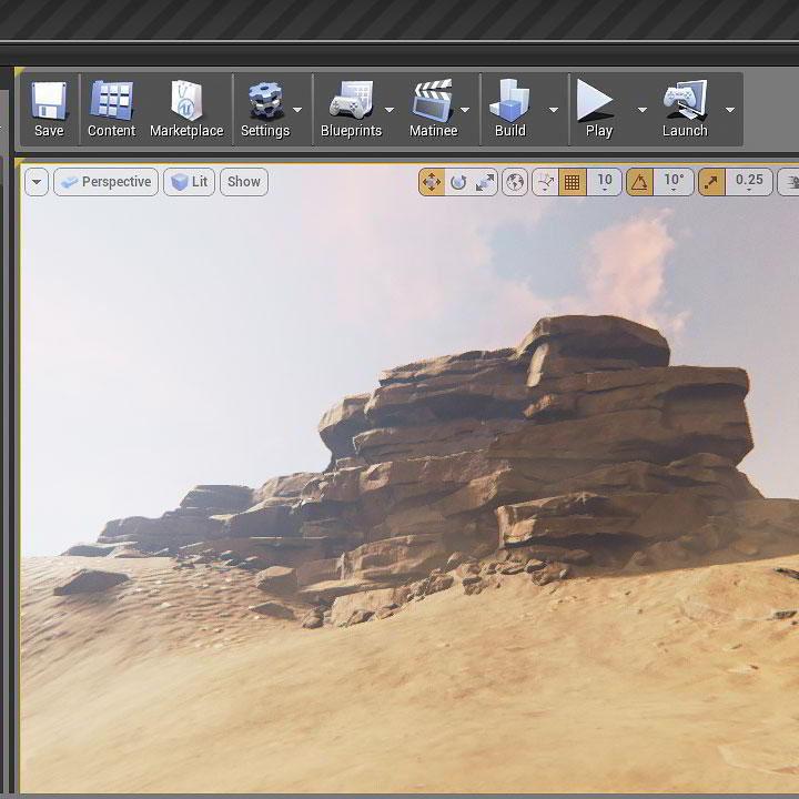 Photo of Creating Rock Structures for Games in ZBrush and Unreal Engine
