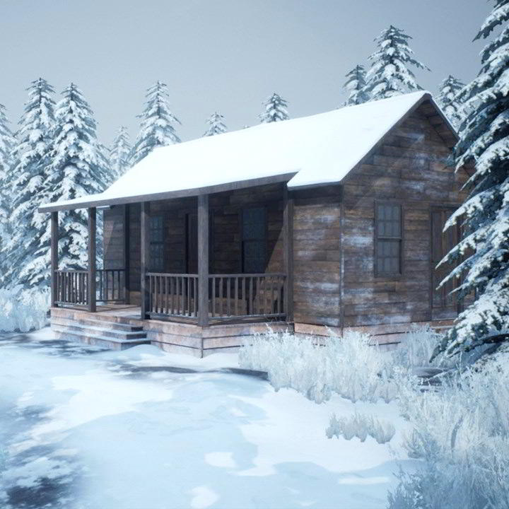 Photo of Realistic Snowy Game Environment Creation