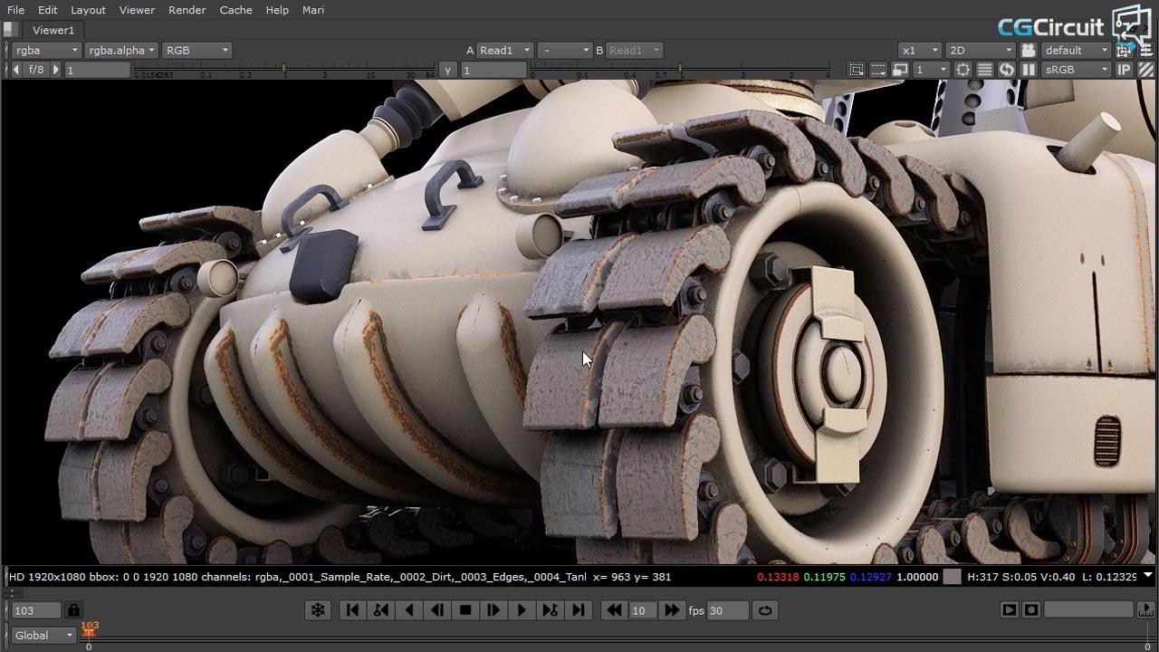 Tank Creation CGcircuit cinema 4d vray nukes free download