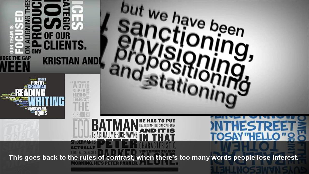 Typography Priorities and Pitfalls for Motion Graphics free download
