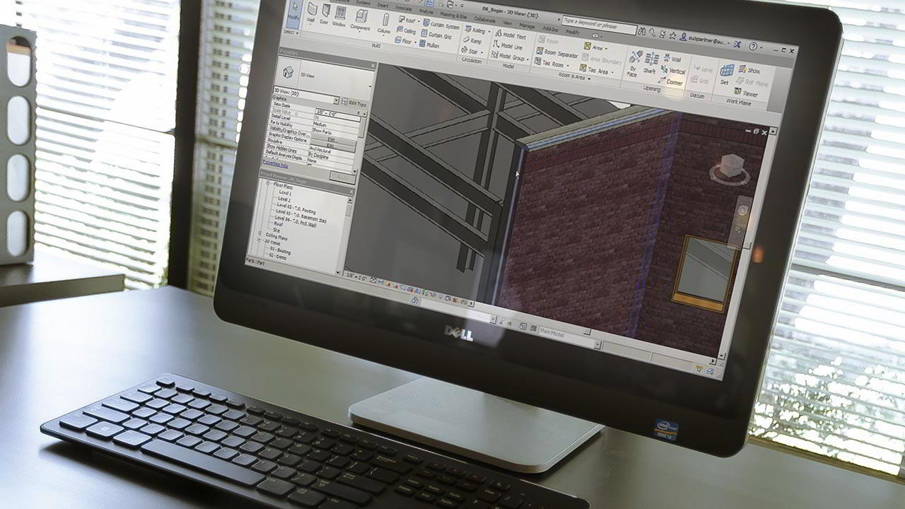Working in the Construction Template in Revit free download