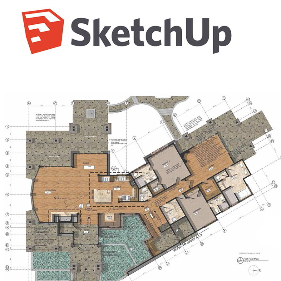 killshare – 3D Modeling using SketchUp Pro for 3D Designers and Architects (3D Modeling) Free download