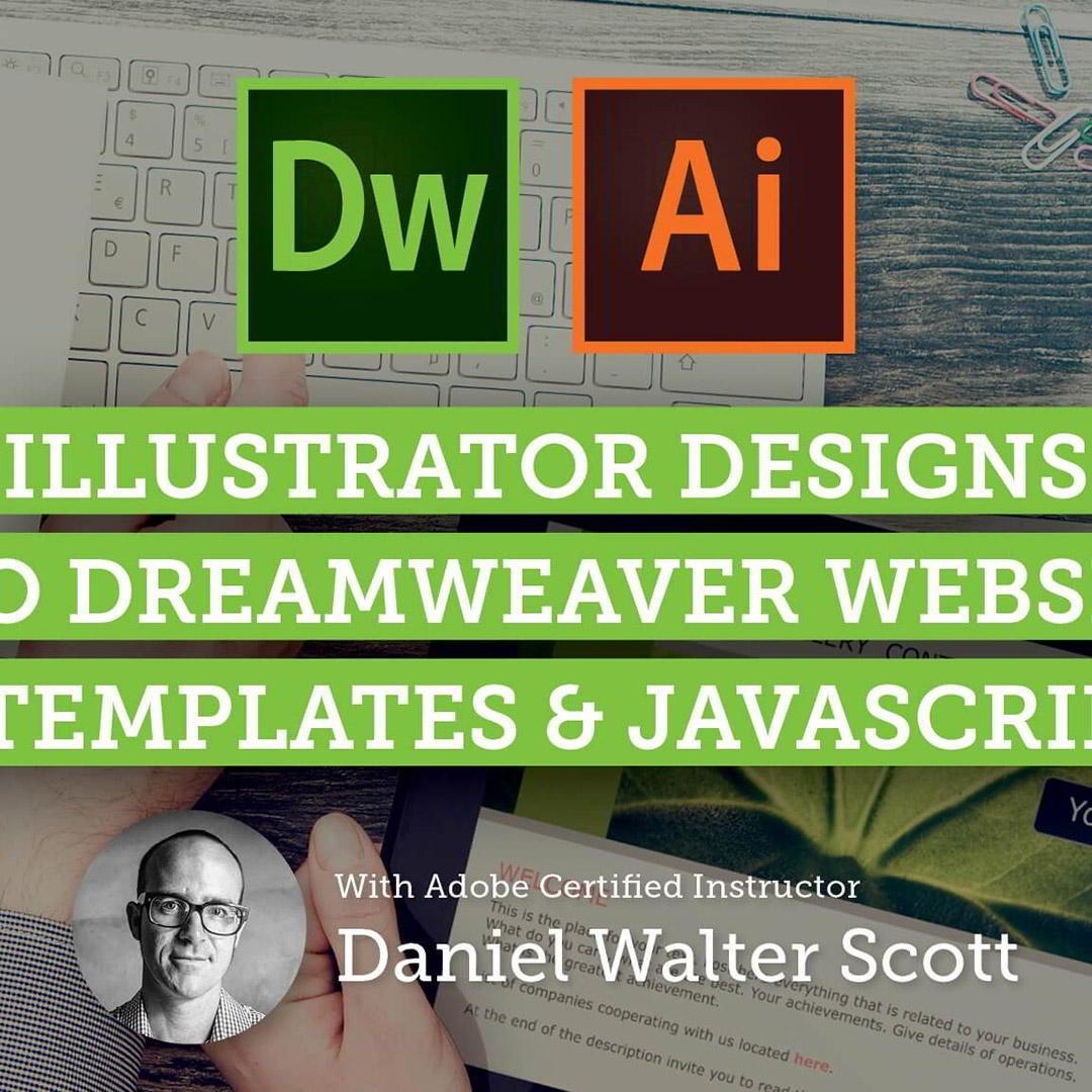 Skillshare – Adobe Dreamweaver CC Web Design from Adobe Illustrator Mockups Free download