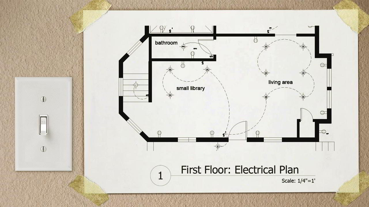 Drawing Electrical Plans in AutoCAD free download