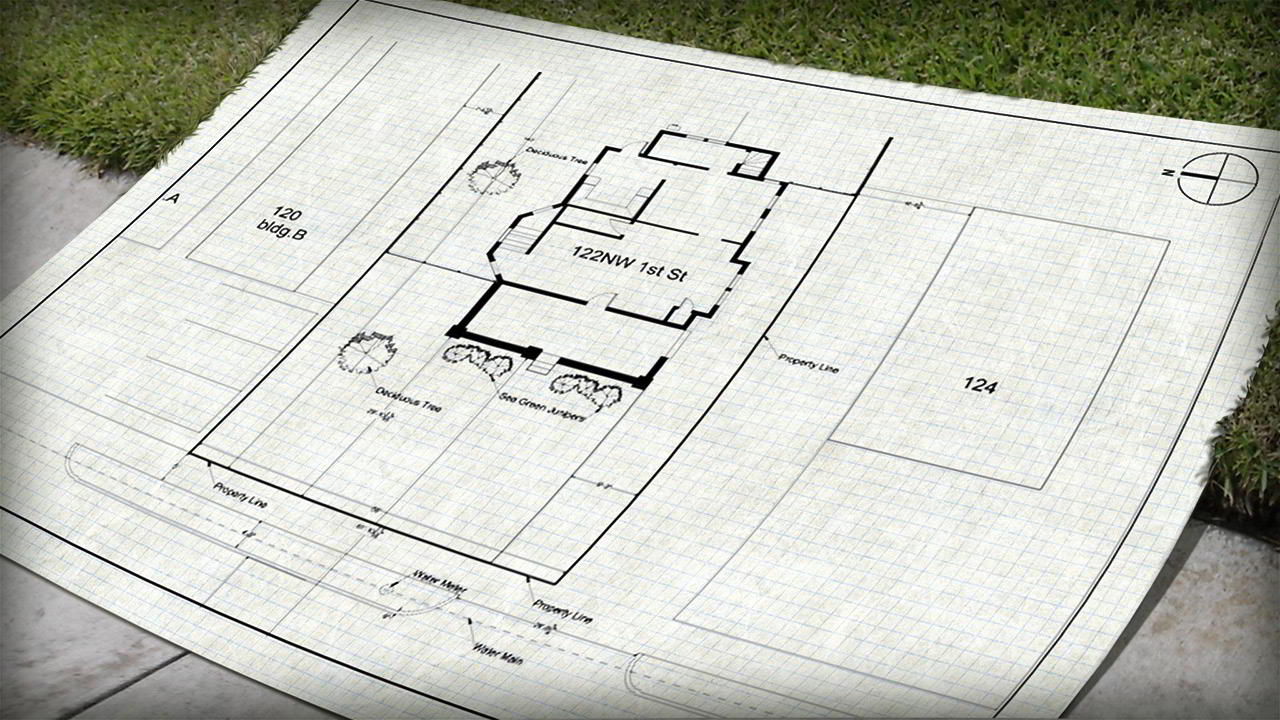 Drawing a Site Plan in AutoCAD free download