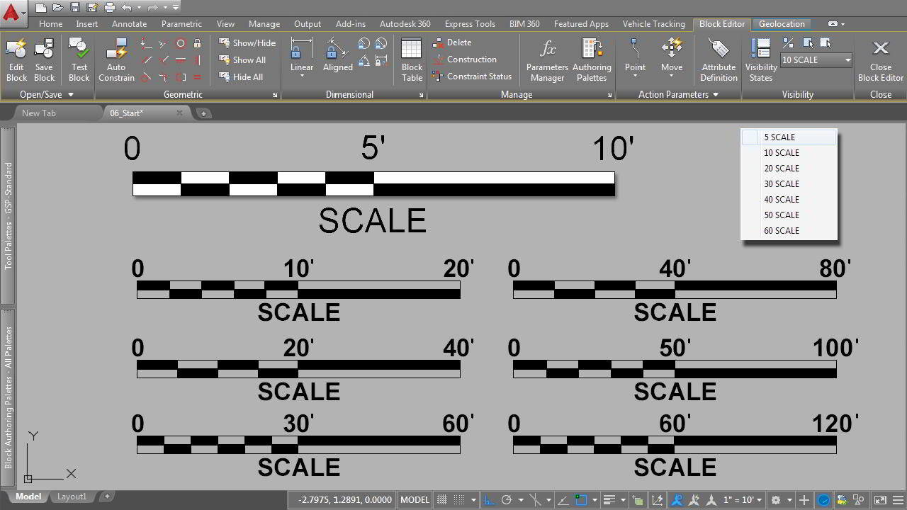 Creating Dynamic Blocks for Site Design Projects in AutoCAD free download