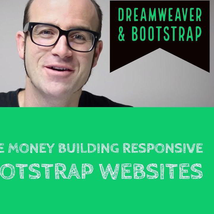 Udemy –  Make money Building Responsive Bootstrap websites using Dreamweaver Download