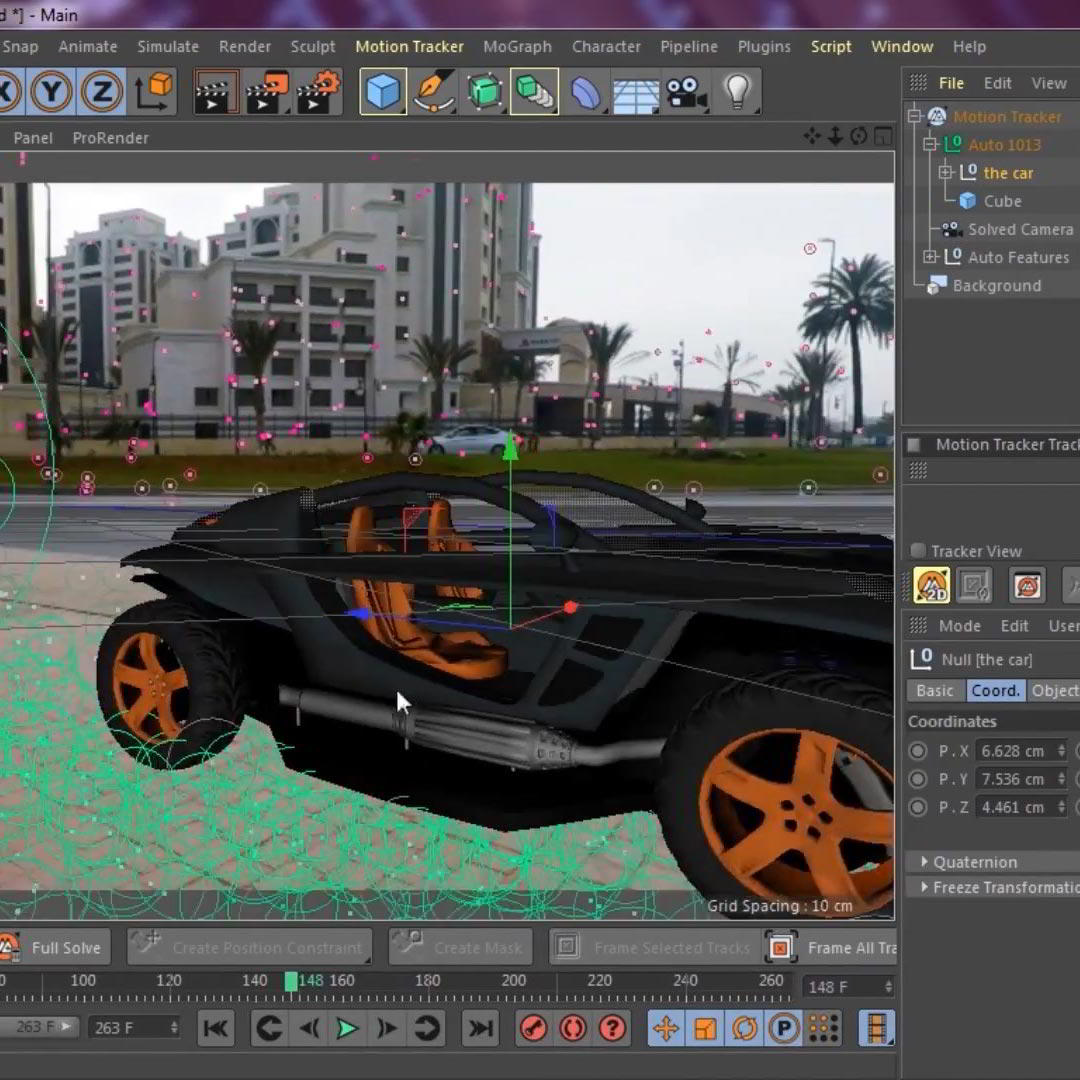 Motion Tracking in Cinema 4D (R20/ R21): Bring Your 3D Objects To Life free download