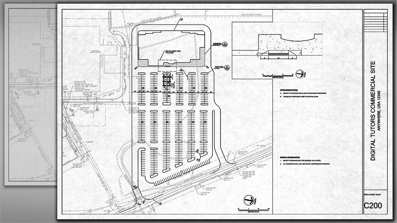 Professional Site Design and Plan Production in AutoCAD free download