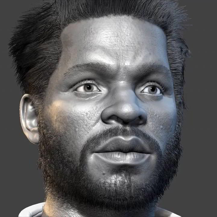 Photo of Realistic Character Modeling For Game In Maya and Zbrush