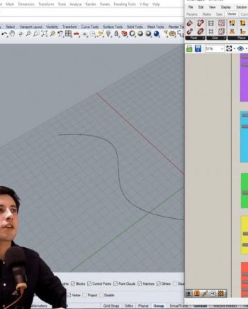 Skillshare – Rhino Grasshopper Create Patterns with Curve Attractors Free download