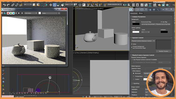 Introduction To Vray in 3ds Max : The Quickest Way free download