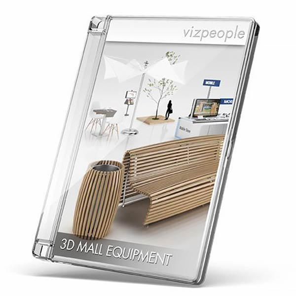 Viz-People 3D Mall Equipment free download