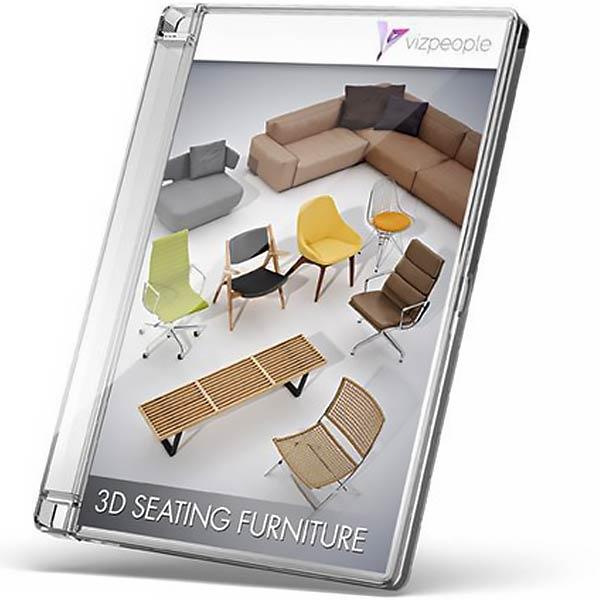 Viz-People 3D Seating Furniture