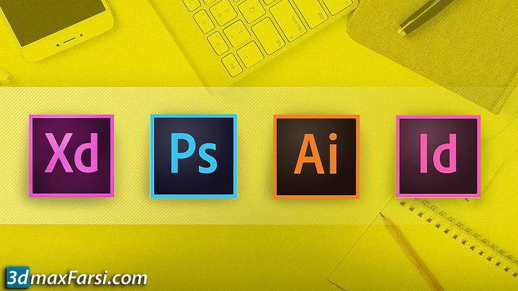 Adobe CC Masterclass: Photoshop, Illustrator, XD & InDesign free download
