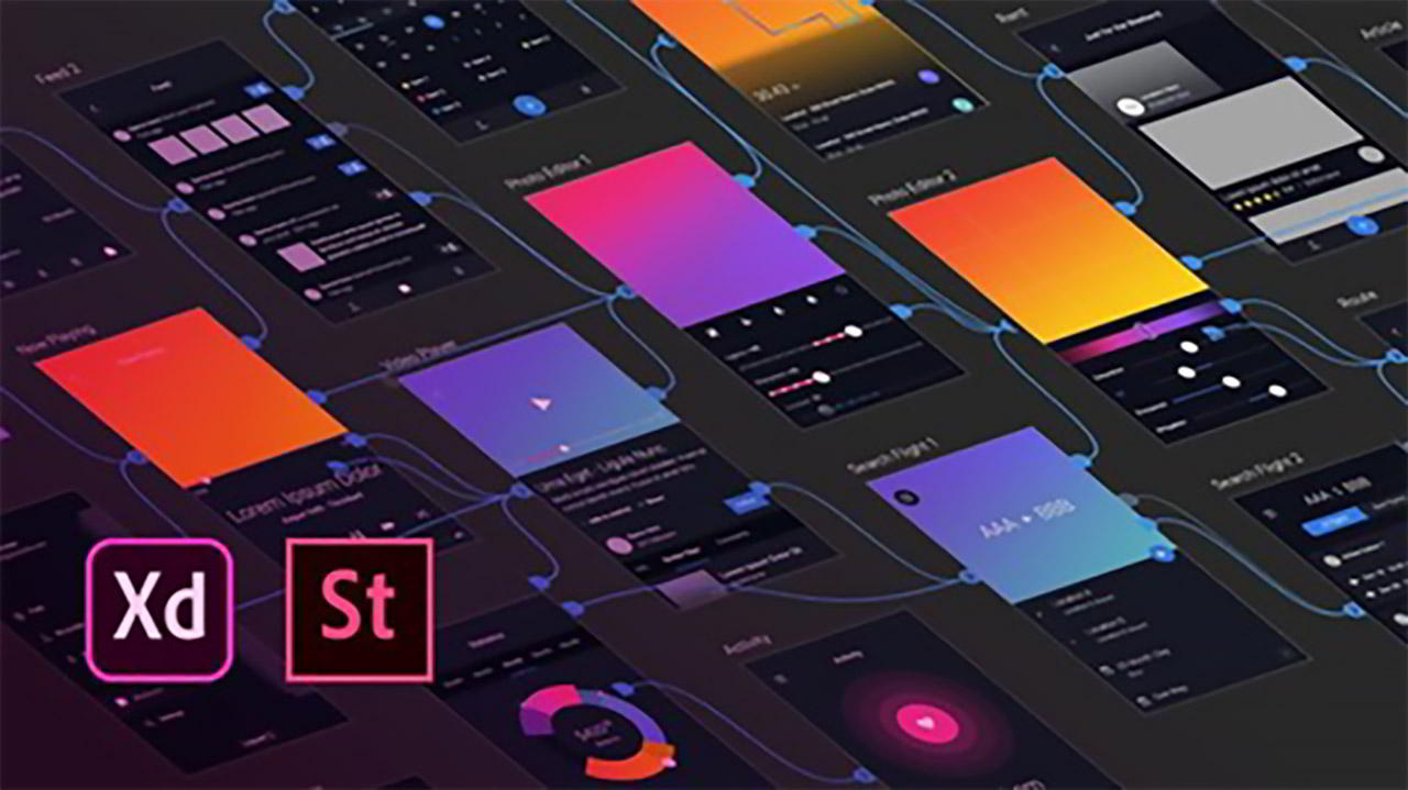 Adobe XD: UI & UX Design with 8 real world project 2020 tuto free download