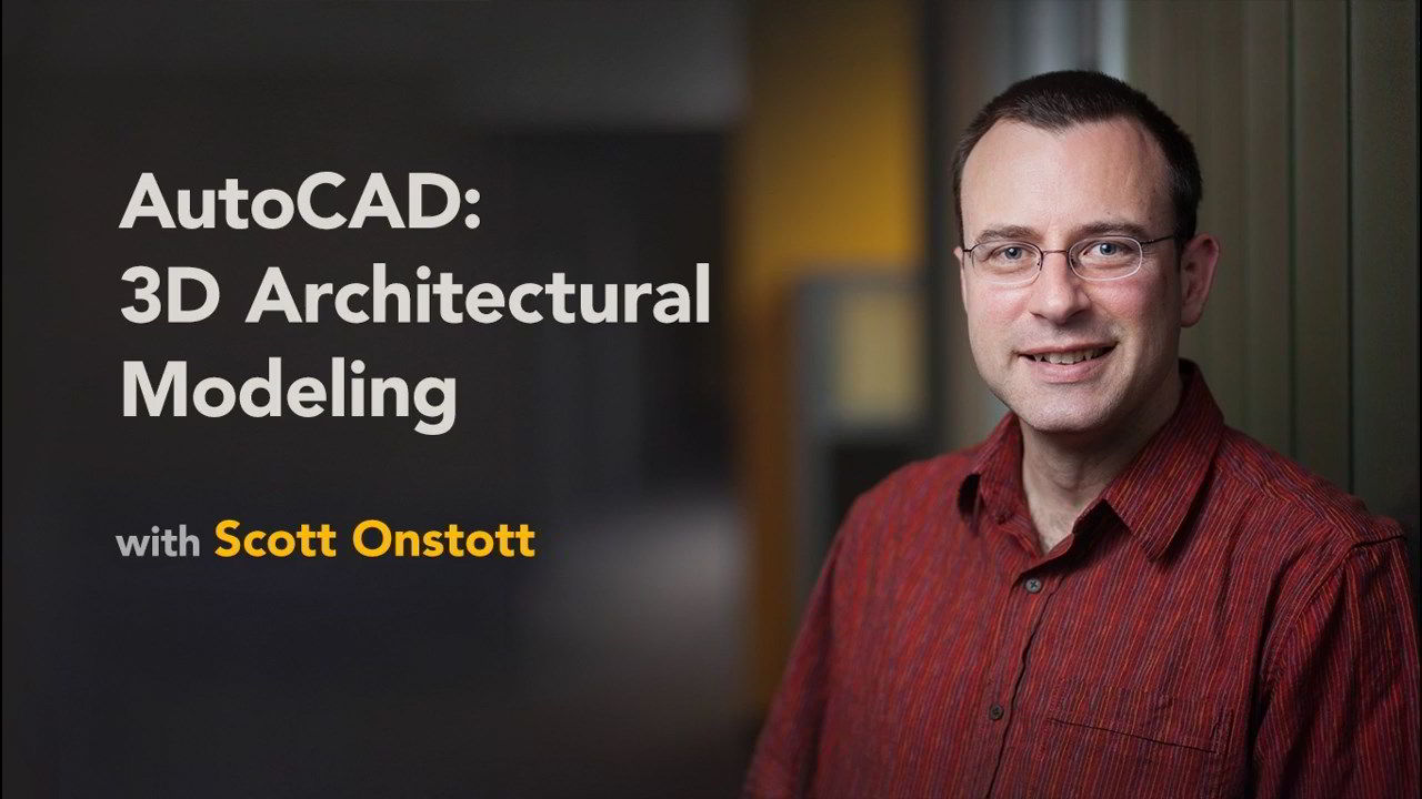 AutoCAD 3D Architectural Modeling (2019) free download