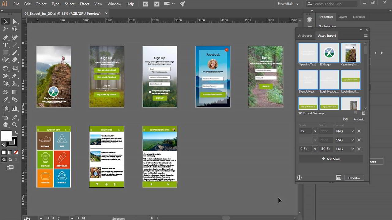 Illustrator CC for UX Design free download