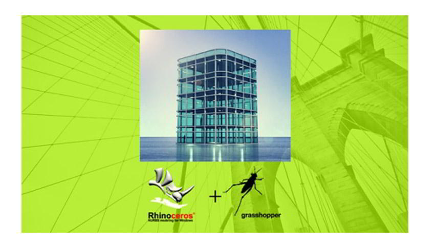Rhino 3D Grasshopper Architectural Tower Structure full tutorial free download
