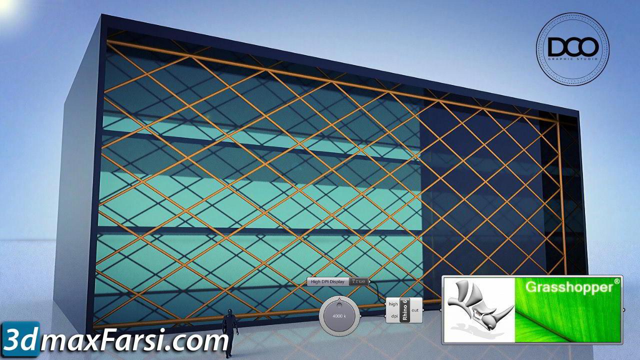 Rhino Grasshopper Building Window and Skin Parametric Design free download