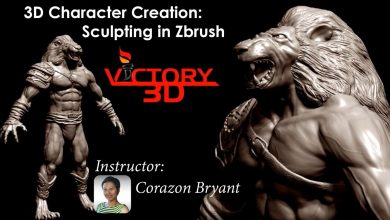 Photo of 3D Character Creation: Sculpting in Zbrush