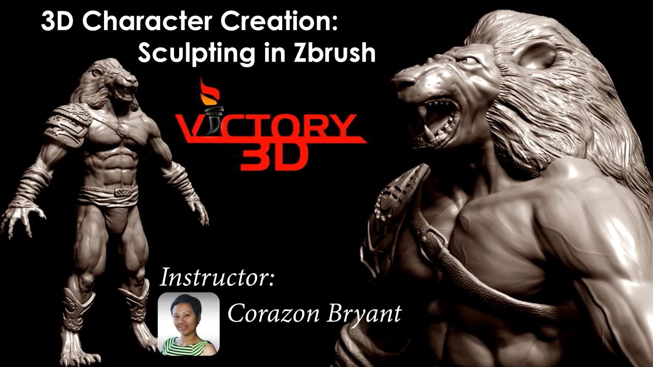 Udemy – 3D Character Creation: Sculpting in Zbrush free download