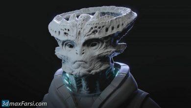 FlippedNormals – Sculpting an Alien in Blender 2.8