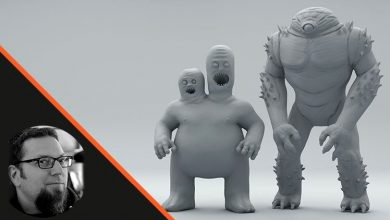 Photo of Making Creatures using Zspheres in Zbrush