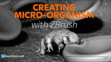 Photo of Learn Sculpting in Pixelogics ZBrush Create a Micro Organism