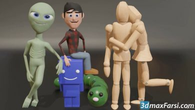 Photo of Ultimate Blender 3D Character Creation & Animation Course