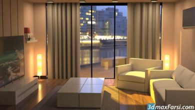 Udemy – 3DS MAX 2020 Interior Design Beginners Course free download