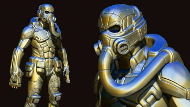 Photo of Hard Surface Character Creation in Zbrush